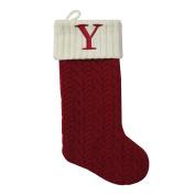 """St. Nicholas Square 50cm . Initial Stocking sock """" Y """" CHRISTMAS"""