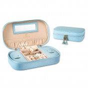 Vlando Small Tassels Jewellery Box Girls Gift Case
