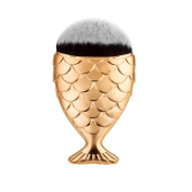 . Makeup Brush,Canserin 1 PC Fish Scale Makeup Brush Fishtail Bottom Brush Powder Blush Makeup Cosmetic Brushes Tool
