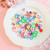 50PCS Play Pretend Food Flower Cream Dessert Sweet Candy Sweetmeat Cake for Kids Babie Doll American Girl Doll Toy