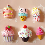 20PCS Play Pretend Food Sweet Cookies Strawberry Fruit Cake Dessert for Kids Babie Doll American Girl Doll Toy