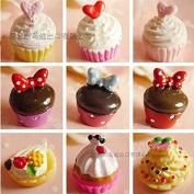 18PCS Play Food Pretend Food Sweet Cake Dessert Chocolate ice Cream for Kids Babie Doll American Girl Doll Toy