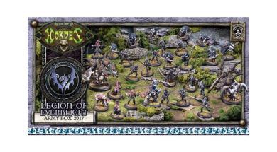 Hordes Legion of Everblight Army Box 2017