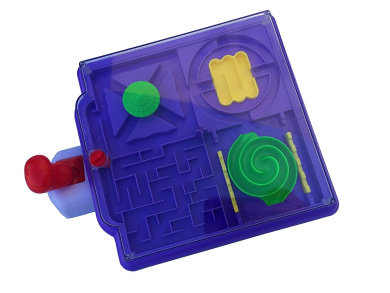 Maze Craze-Purple-a NEW and challenging game by MukikiM that uses hand/eye coordination, motor skills and dexterity to move the ball around a maze on a moving platform. The fastest time wins!