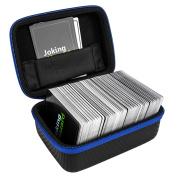 DOUBI Carrying Case for Joking Hazard - fits up to 400 cards , for Expansion Pack Toking Hazard by Joking Hazard, Deck Enhancement #1