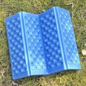 VANKER 1Pc Blue Outdoor Camping Hiking Foldable Waterproof Soft Cushion Mat Sleeping Pad