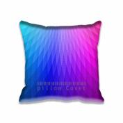 Square 50cm x 50cm Zippered Rainbow Lights Patterns Art Pillowcases Digital Print Adults Kids Cushion Covers