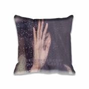 Rain Girl Shy Asian Nature Pillowcase Covers,decorative cushion cover pillowcase for sofa 50cm x 50cm