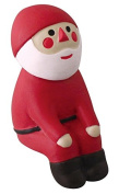 Happy Santa Claus sitting down Christmas figurine Japan
