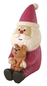 Santa Claus with animal Christmas figurine Japan