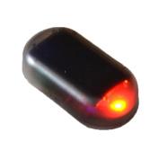 Onmi Solar Car Alarm LED Light Simulated Imitation Warning Anti-Theft Flashing Blinking Lamp Red