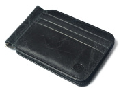 Genuine Leather Credit Card Holder Wallet - RFID Blocking, 12 Card Slots with Money-Clip, Slim Design by mSure