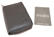 Mala Leather Concertina fan wallet card holder 552 / 5
