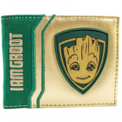 Guardians of the Galaxy Vol. 2 Baby I am Groot Gold Bi-Fold Wallet