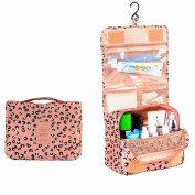 Portable Hanging Travel Cosmetic Bag - Mr.Pro Waterproof Organiser Travel Makeup Toiletry Bag for Women / Men, Shaving Kit with Hanging Hook for vacation