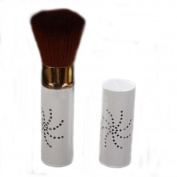 Retractable High Quality Hair Blush Brush Loose Powder Brush with Cap