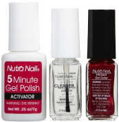 Nutra Nail Gel Perfect Peony, 15ml by CCA Industries, Inc