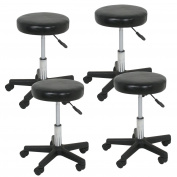 Zeny Adjustable Relief Hydraulic Massage Salon Stool Spa Rolling Chair