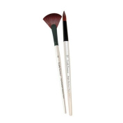 Simply Simmons Extra-Firm Synthetic Short Handle Brushes Angular SH 1/4