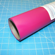 ThermoFlex Plus Hot Pink 38cm x 0.9m Iron on Heat Transfer Vinyl by Coaches World