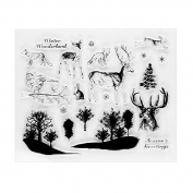 Different Animals Transparent Clear Silicone Stamp/seal for DIY Scrapbooking/photo Album Decorative Clear Stamp Sheets