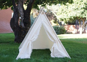 lace design Teepee Kids Play Tent kids play house children teepee