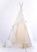 Four poles children playhouse kids teepee tent room teepee