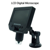 Seesii G600 Portable LCD Display Digital Microscope Video Camera 11cm HD OLED 3.6MP 1-600X Magnification 1080P/720P Continuous Magnifier
