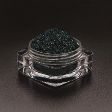 Magnetic Blackened Dark Green Magnetite Mica Powder 15 Gramme Sample Jar