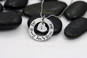 """Ingooood Pendant Necklace Inspirational """"My Story Isn't Over Yet"""" Semicolon Necklace Jewellery for Friend"""