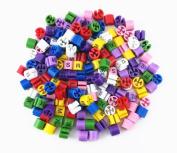 Honbay 160pcs 8 Size Set (XS-4XL) Colour-Coding Size Markers Clothes Hanger Size Dividers Identifier