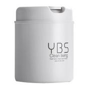 Desktop Mini Plastic Trash Can Countertop Small Trash Can Swing Top Trash Bin Creative Desktop Trash Bin