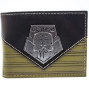 Suicide Squad Deadshot Task Force Brown ID & Card Bi-Fold Wallet