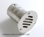 Boat Plumbing Fittings - Deck Floor Drain / Grate- 5.1cm - Marine 316 Stainless Steel