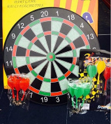 LoveisCool 17'' Magnet Dart Board with 12 Magnet Darts
