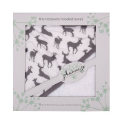 Shannon Johanna Jo Tiny Treasures Hooded Towel Deertome