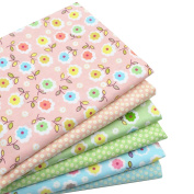 iNee Fat Quarters Quilting Fabric Bundles, Sewing Fabric for Quilting Crafting, 46cm x 60cm