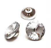 Crystal Rhinestone Diamante Embellishments Headboard Decorative Craft Buttons 18mm