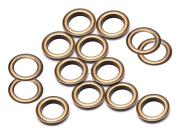 """CRAFTMEmore 3/8"""" (10MM) Hole 100 Sets Grommets Eyelets with Washers for Clothes, Leather, Canvas"""
