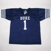 Duke Blue Devils #1 Youth Football Jersey - Navy