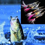 Gotd 5pc Lures Fishing Bait Metal Sea Swimbait Shad Lot Baits Spoon
