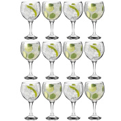 Rink Drink Spanish Gin & Tonic Cocktail Glasses - 645ml (22.7oz) Pack of 12 Copa Balloon Glasses