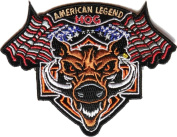 American Legend HOG Small Patch (10cm X 10cm ) with FREE FREIGHT from San Diego Leather