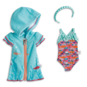 American Girl WellieWishers Fun Fish Swimsuit & Cover-Up for Dolls