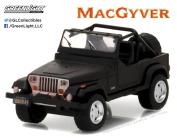 GREENLIGHT 1:64 HOLLYWOOD SERIES 16 - 1987 JEEP WRANGLER YJ - MACGYVER (1985-1992 TV SERIES) 44760-C