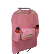 Cdet Car Storage Bag Multifunctional Car Accessory Carriage Holder Car Tidy Pink