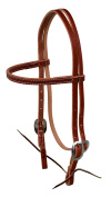 Berlin Leather E1610 Browband Headstall w/ Tie S.S. Buckle