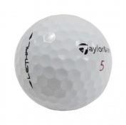 Nitro Taylor Made Lethal Recycled Almost Mint Golf Balls (Pack of 36) - White