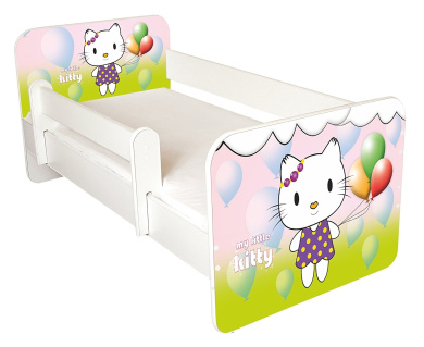 TODDLER BED WITH FREE MATTRESS NEW DESIGN Hello 65