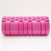 New Pink Gym Exercise Fitness Floating Point Foam Yoga Foam Roller Physio Massage Pilates